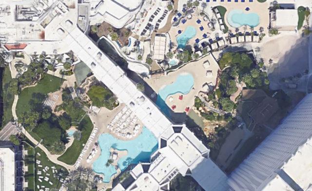 Tropicana Las Vegas Aerial